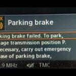 أسباب ظهور مشكلة Electronic Parking Brake في BMW
