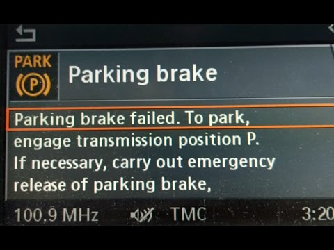 أسباب ظهور مشكلة Electronic Parking Brake